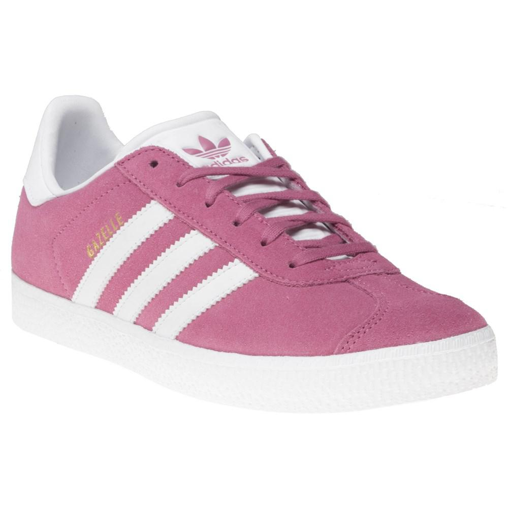 e245d3f30b8 Adidas Gazelle Trainers in Pink - Lyst
