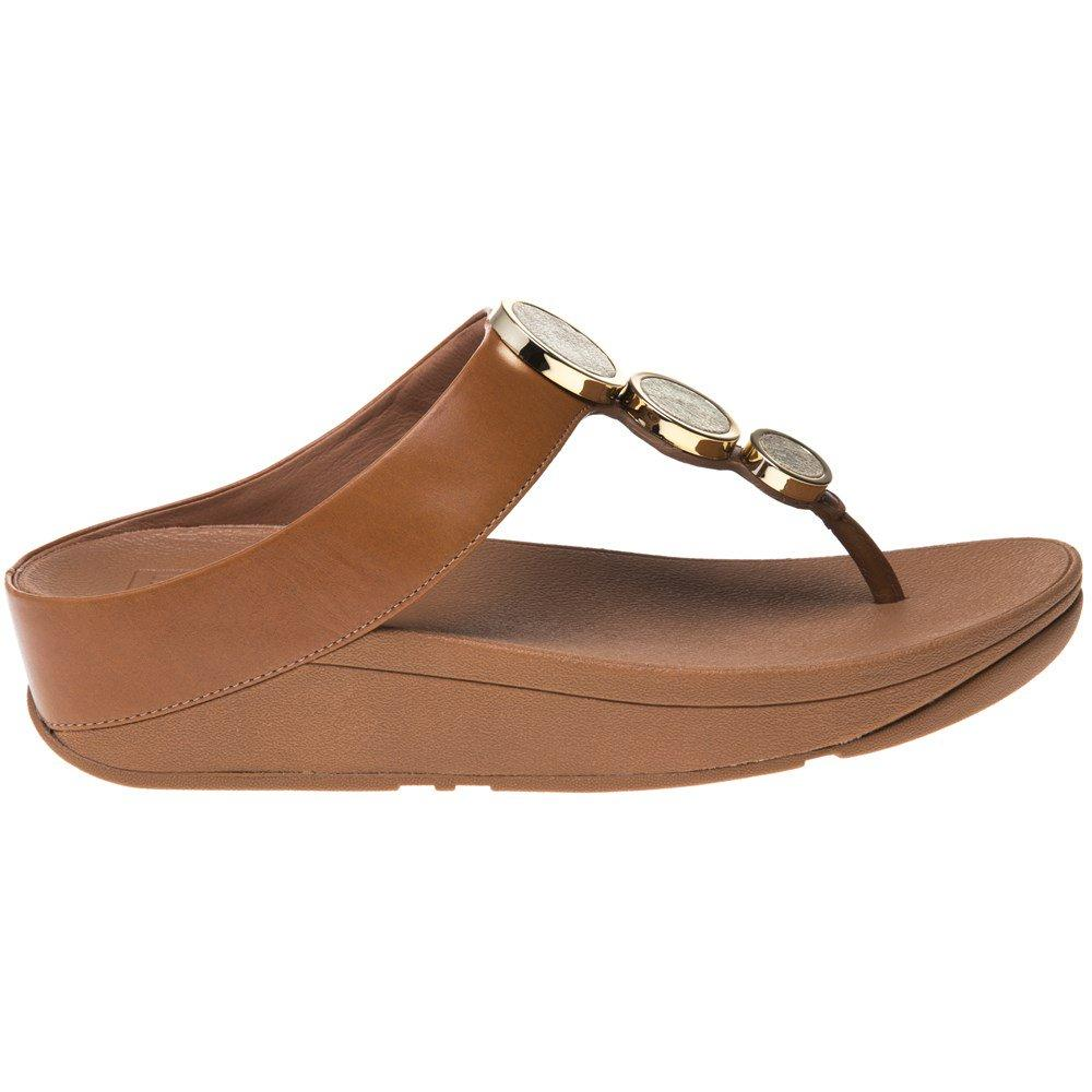 36f47768ba33 Fitflop - Brown Halo Toe Thong Sandals - Lyst. View fullscreen