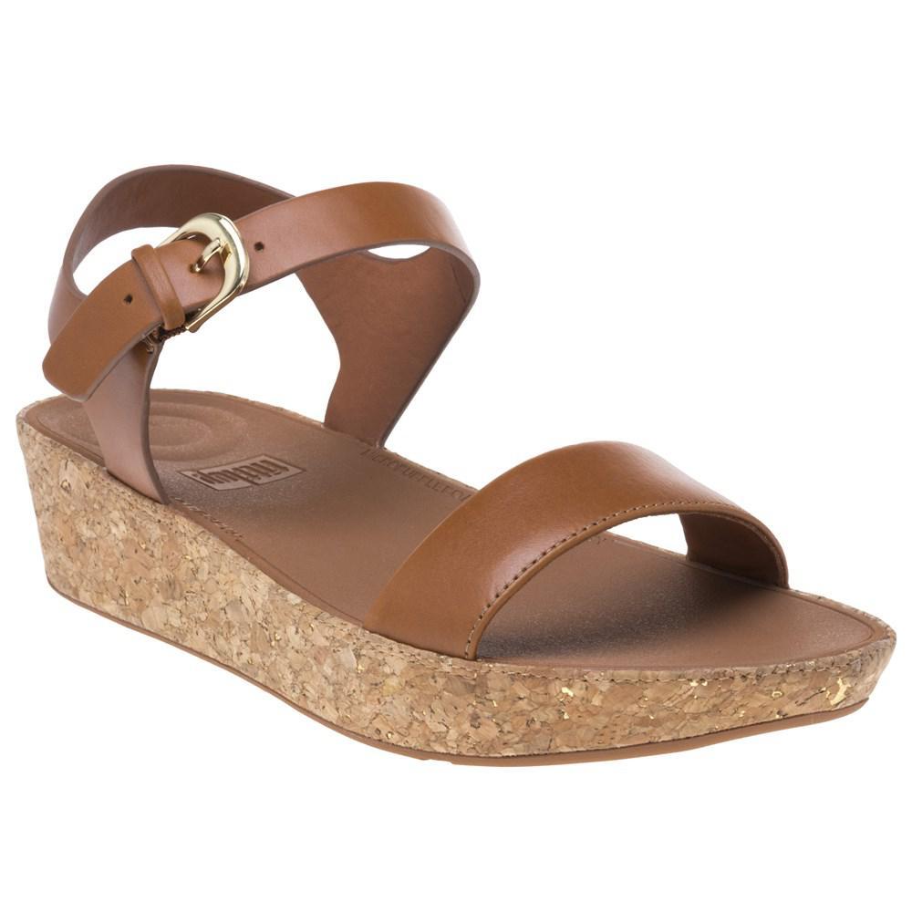 20077ba8e4a6 Fitflop Bontm Ii Back Strap Sandals in Brown - Lyst