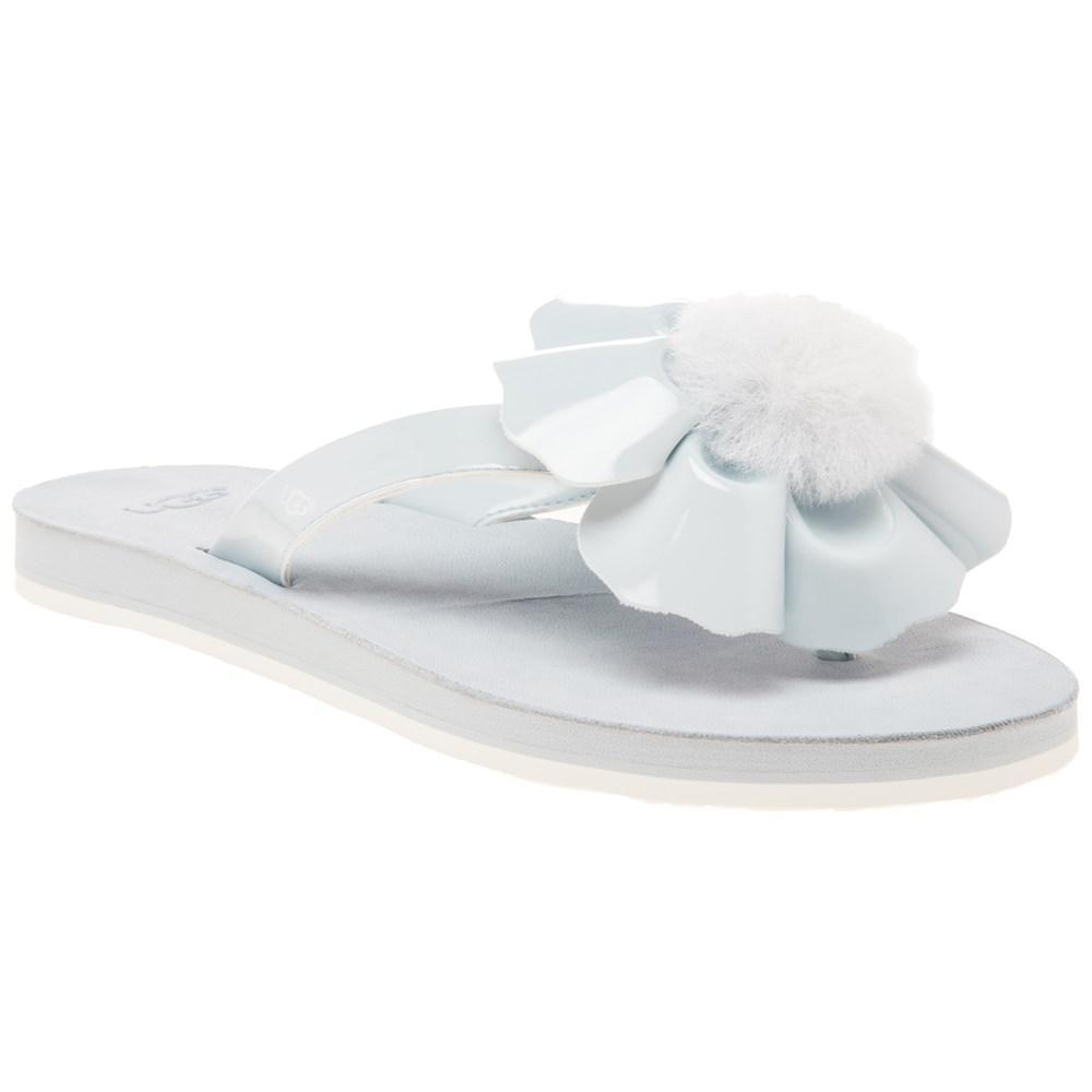 a6df599f3995b4 Ugg Poppy Sandals in Blue - Lyst