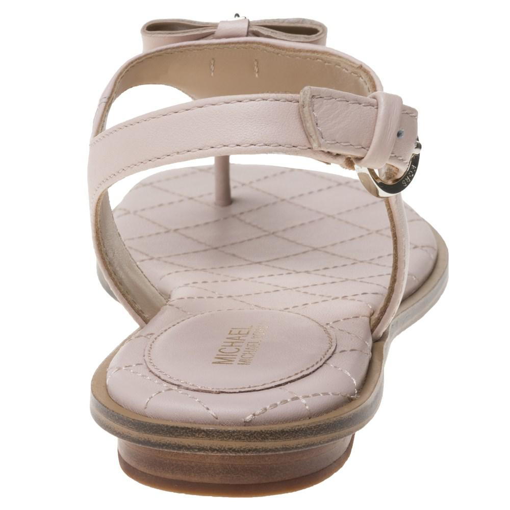 4d8a18fd1fe9 Michael Kors Alice Thong Sandals in Pink - Lyst