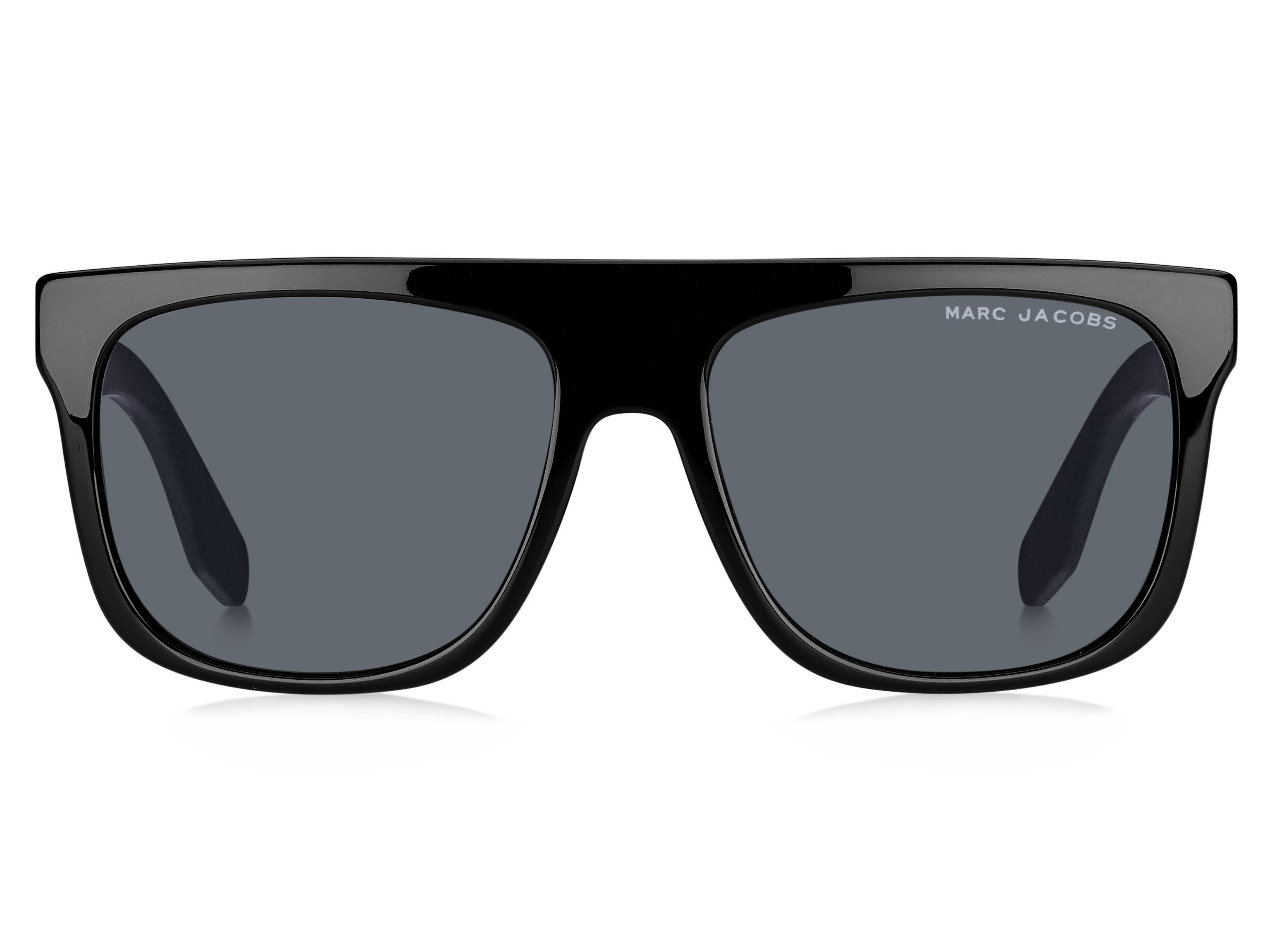 4ff49cc4ba20 Marc Jacobs - Black 357/s Rectangle Sunglasses - Lyst. View fullscreen