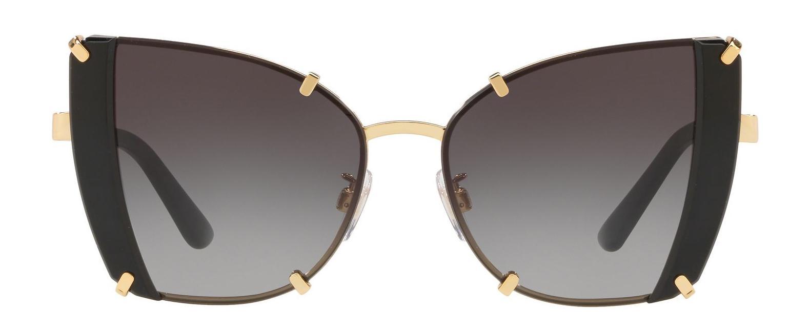 0b090bd8e1c Lyst - Dolce   Gabbana 2214 Butterfly Sunglasses in Brown