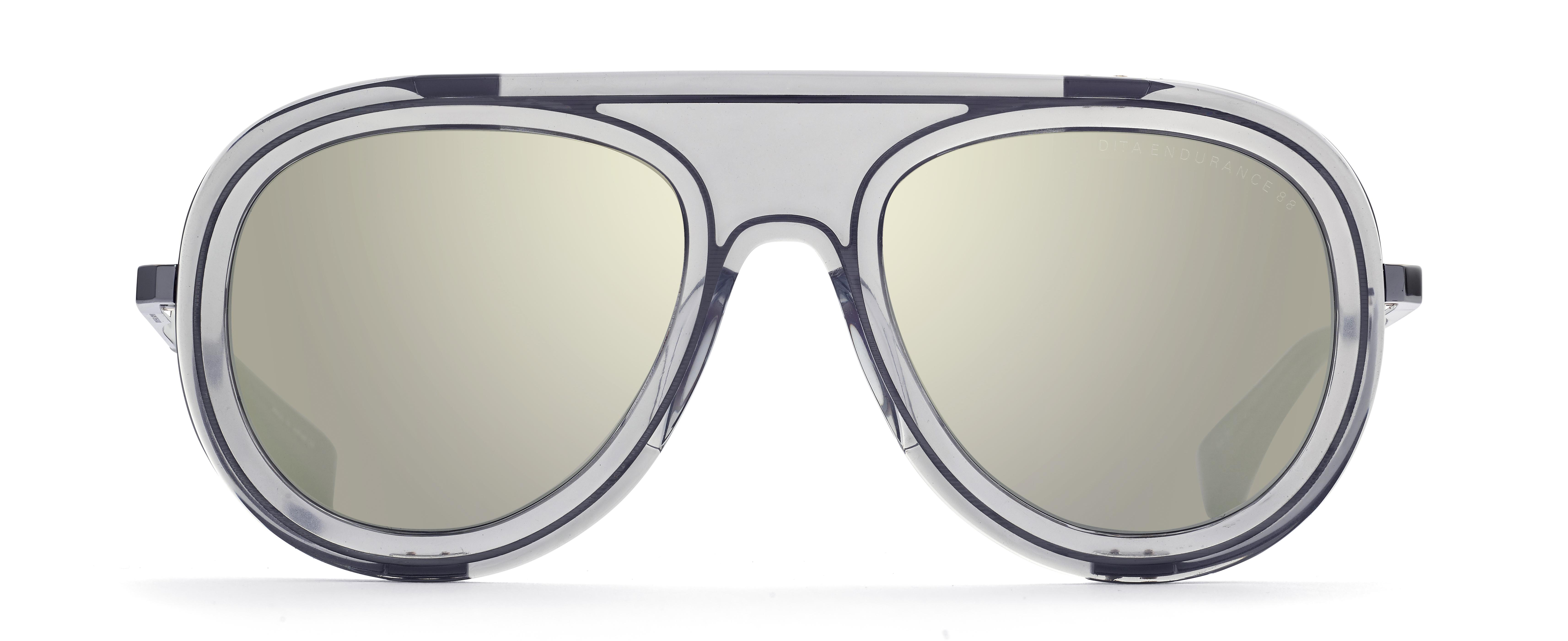 6077b5bd4b360f Lyst - DITA Endurance 88 Aviator Men s Sunglasses in Gray for Men