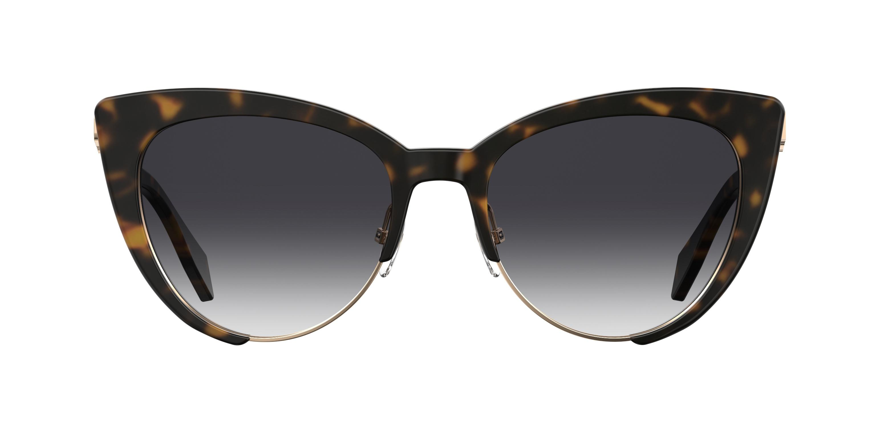 a4fcbb70d Lyst - Moschino Mos040/s Cateye Sunglasses in Brown