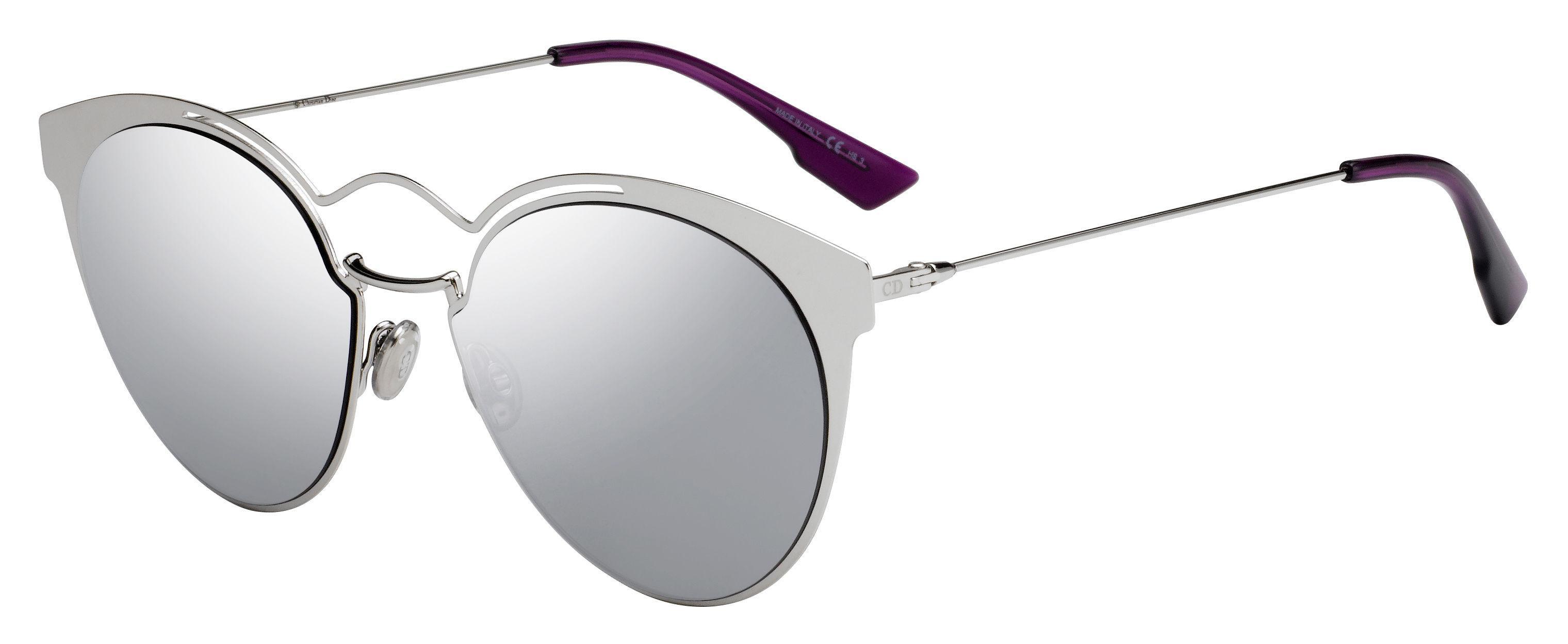 eebe0e6736cbc Lyst - Dior Dior Nebula s Cat Eye Sunglasses in Metallic