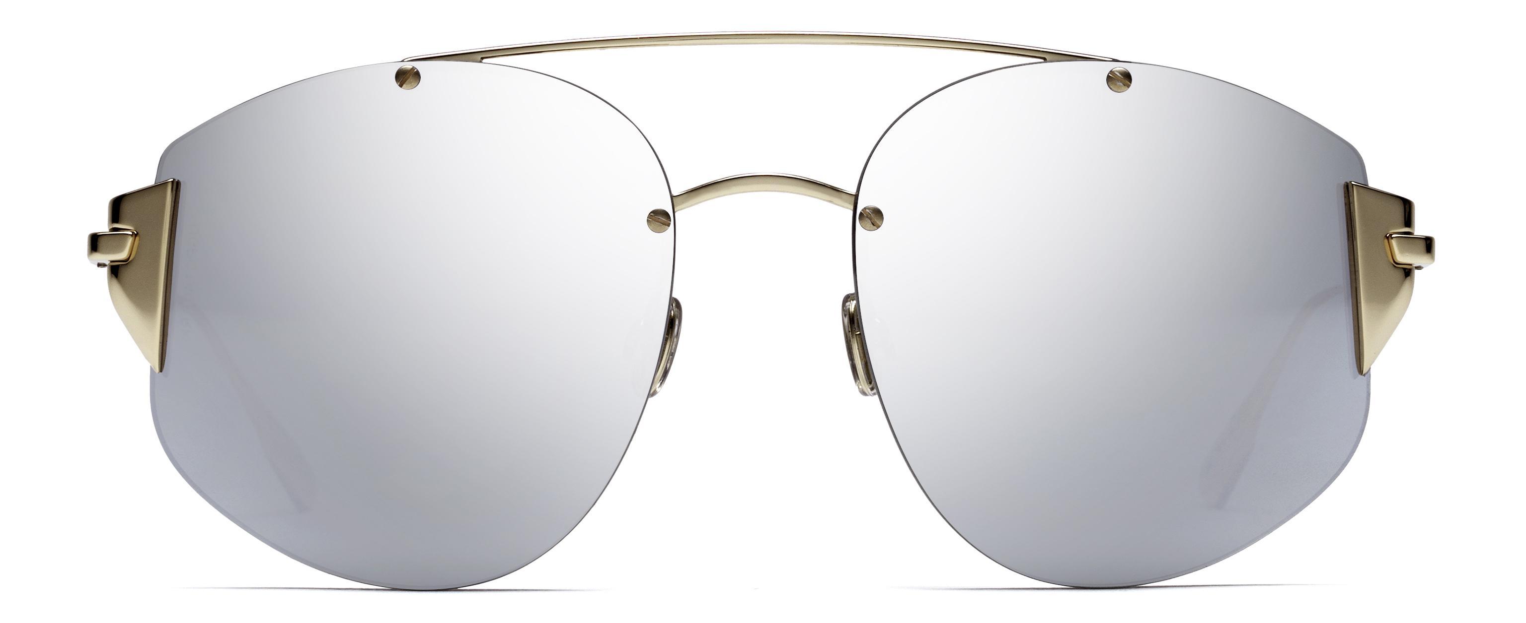 bb496a84e8 Lyst - Dior Dior Stronger Aviator Sunglasses in Metallic for Men