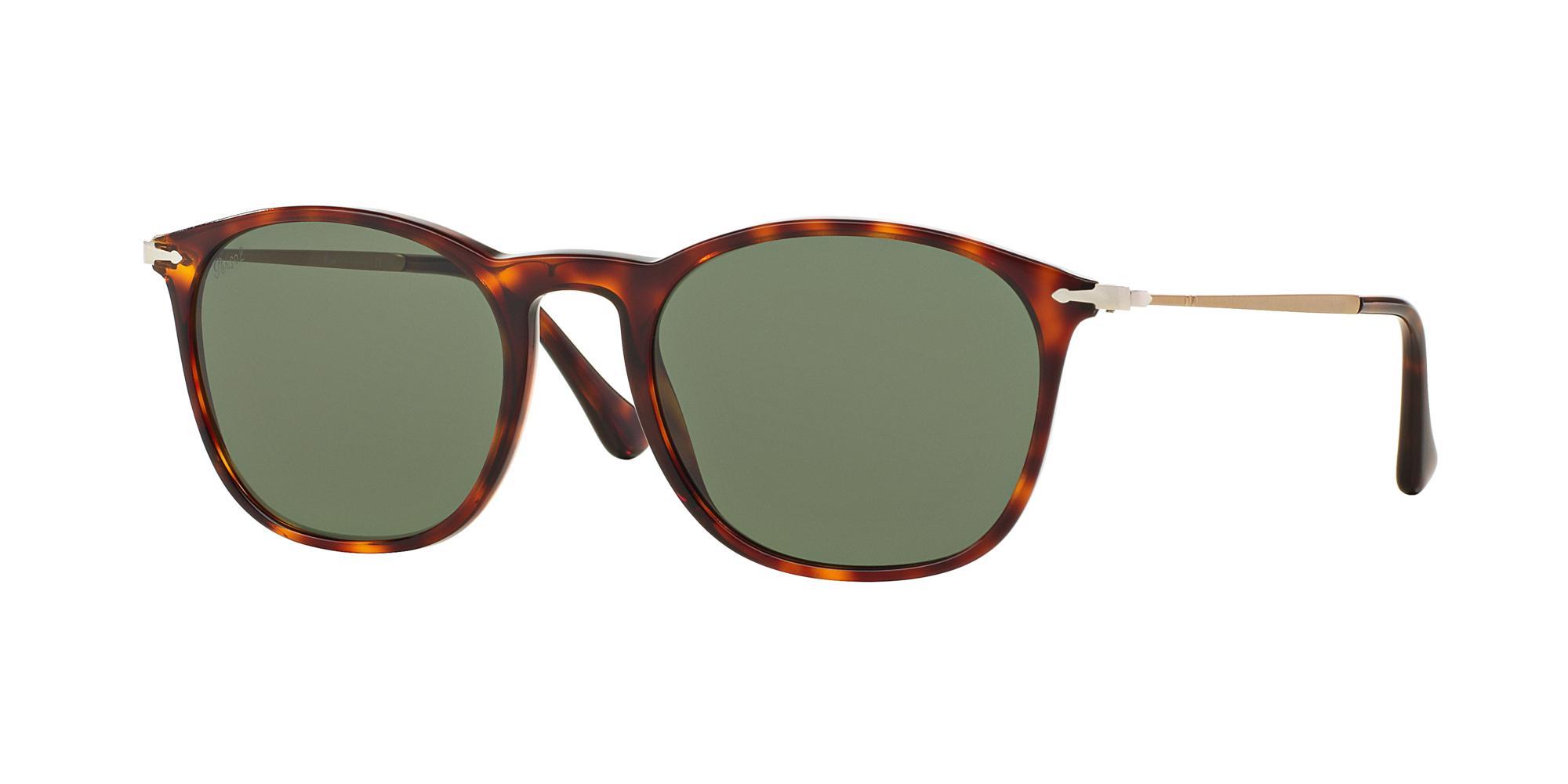 82c8233875 Lyst - Persol 3124 Size 50 Wayfarer Sunglasses in Green
