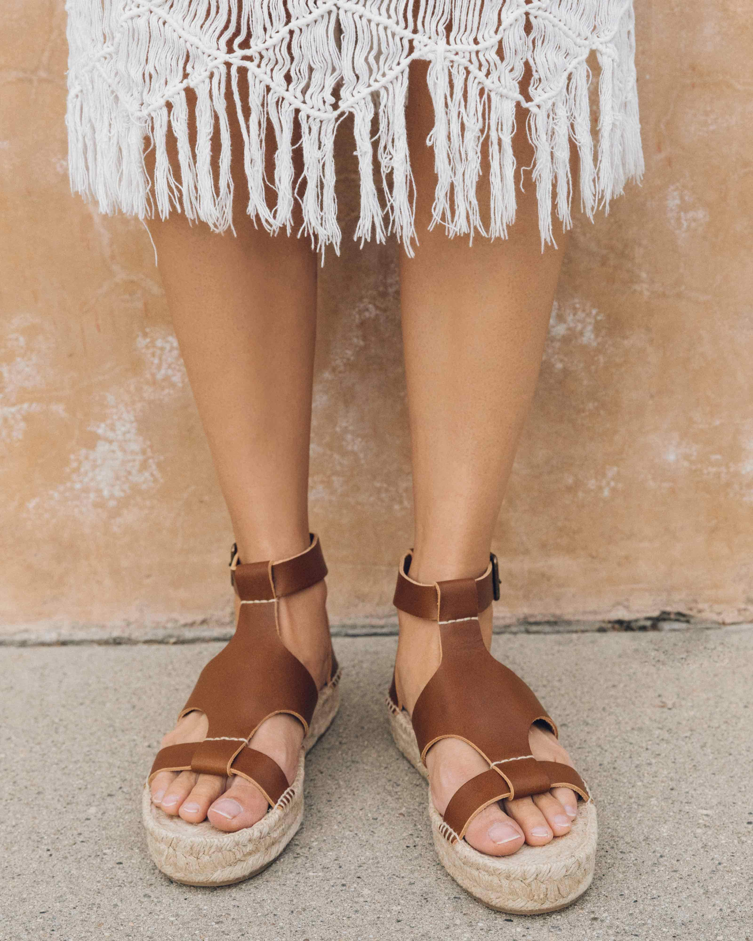 473b3517d9a7 Lyst - Soludos Banded Shield Sandal in Brown