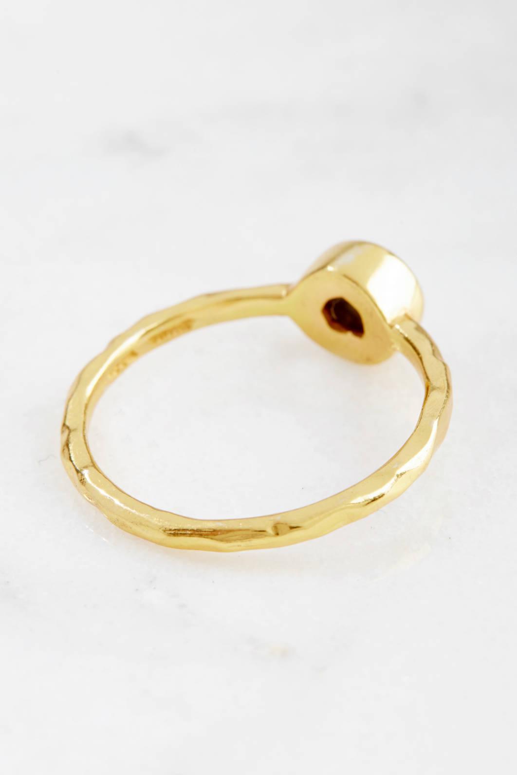 South Moon Under Open Arrow Ring Gold 1 Size yAuHBDD