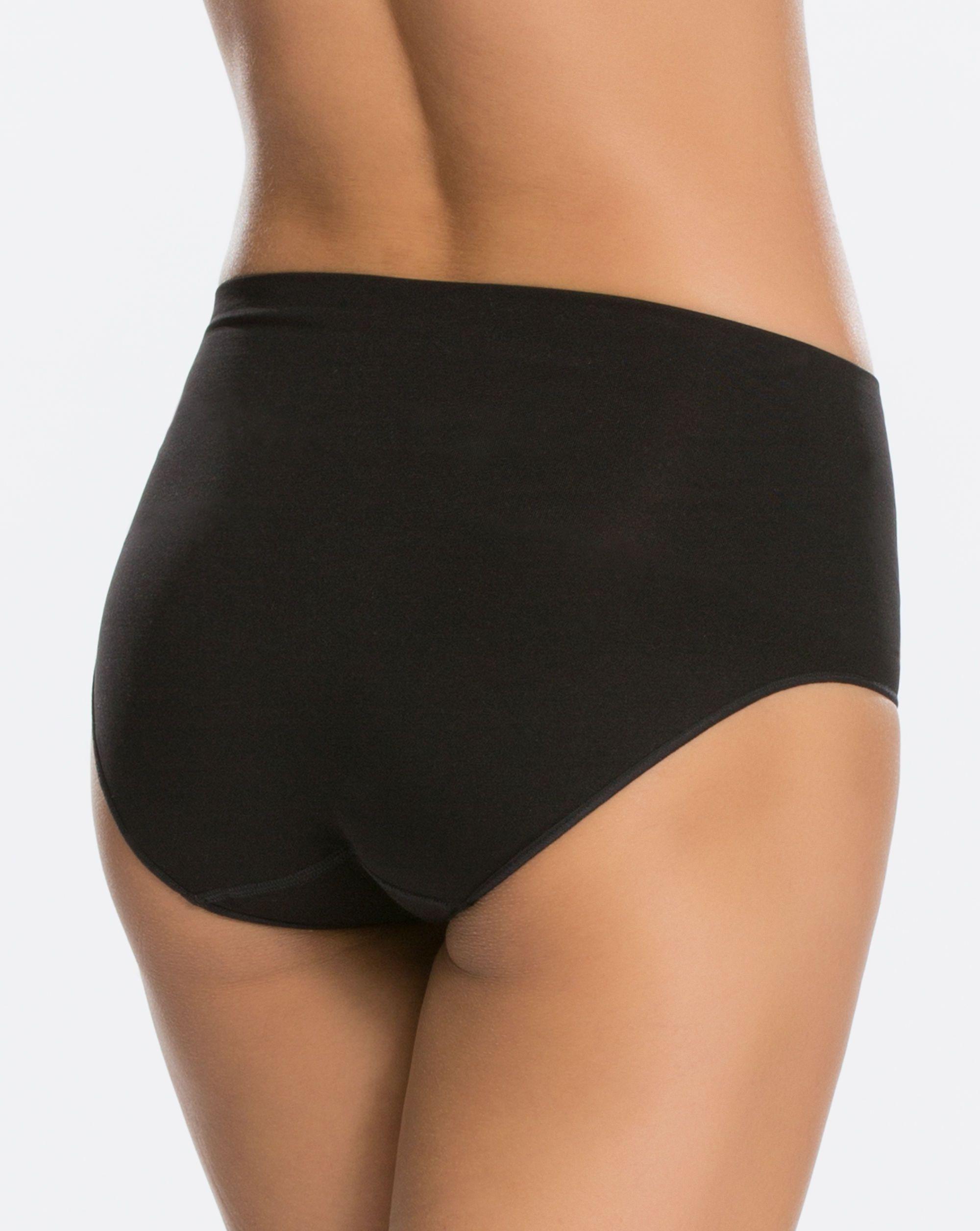 3b712f356 Lyst - Spanx Everyday Shaping Panties Brief in Black