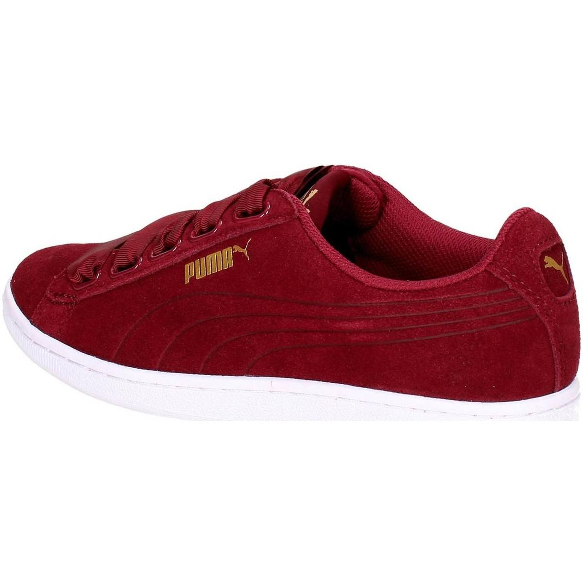 PUMA 364262 03 Low Sneakers Women Burgundy Women s Shoes (trainers ... aeae36fba