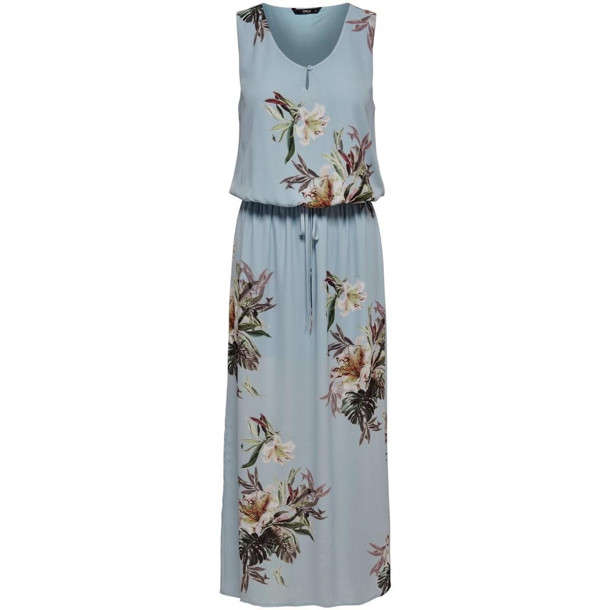 Womens Onlcarla S/L Long WVN Dress Only NIhpvKy