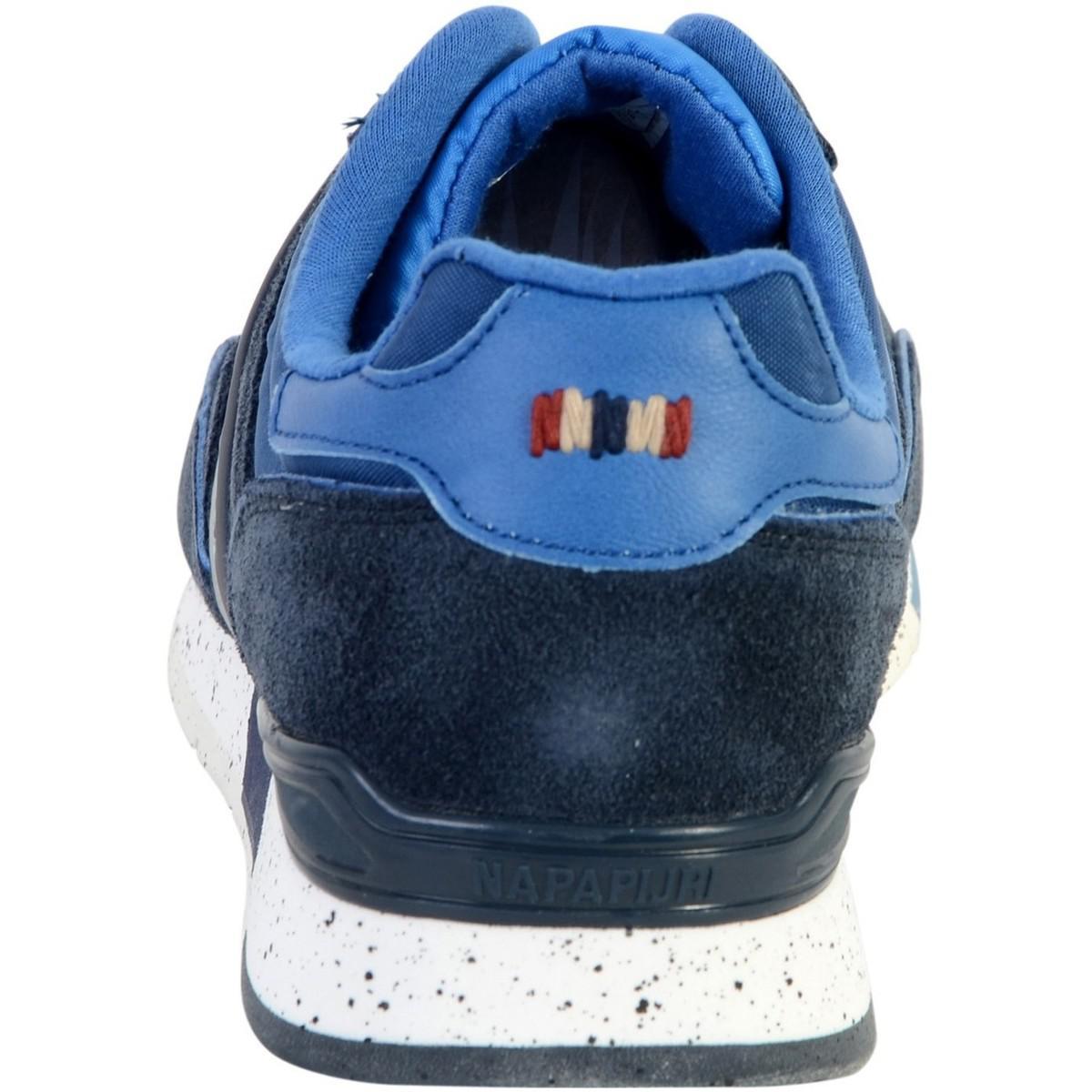style top luxuriant dans la conception jolie et colorée Hommes Chaussures Napapijri Rabari Pour Basket Bleu En Lyst ...