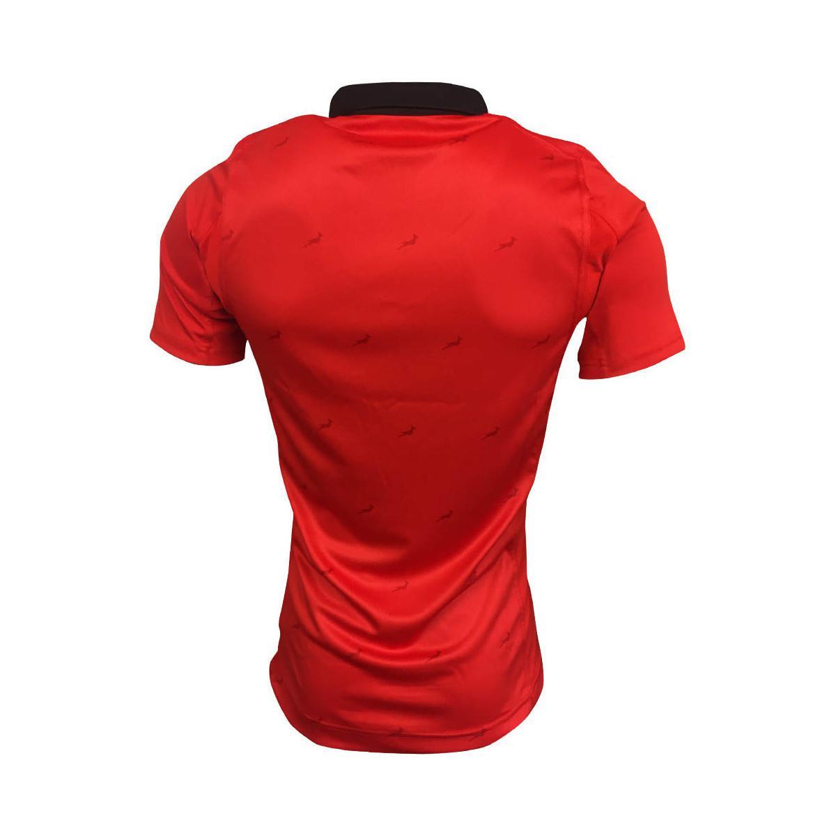5e0cc0a0e633 Asics 2017-2018 South Africa Springboks Away Pro Rugby Shirt (kids ...