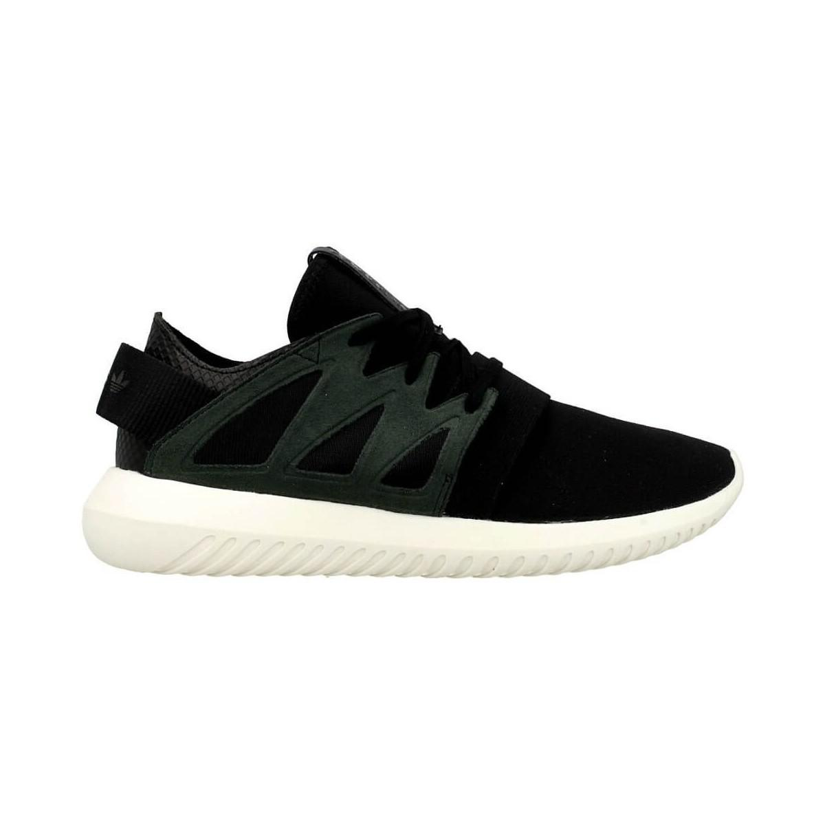competitive price 98617 a992c Adidas - Tubular Viral W Women s Shoes (trainers) In Black - Lyst. View  fullscreen