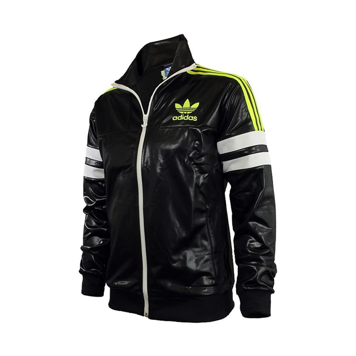 adidas Chile 62 Tracktop 2 M Men s Jackets In Black in Black for Men ... 893eb933327ec