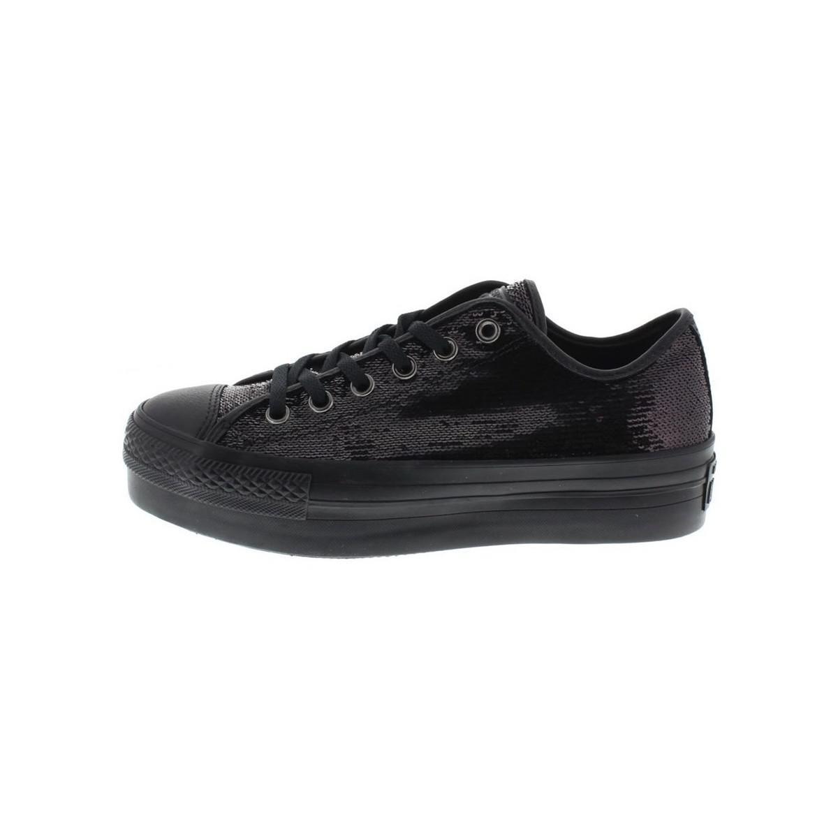 brand new 6d46c a3c3a Ox Converse Platform Multicolour Sequins Women s ShoestrainersIn iuTPZOkX
