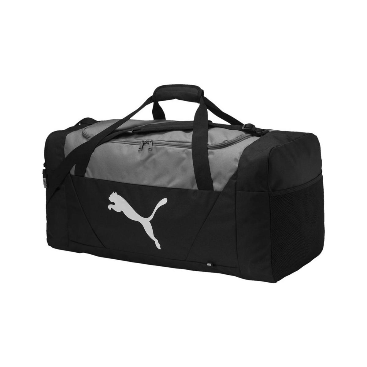 c37652e22f20 Puma Fundamentals Sports Bag L Women s Sports Bag In Black in Black ...