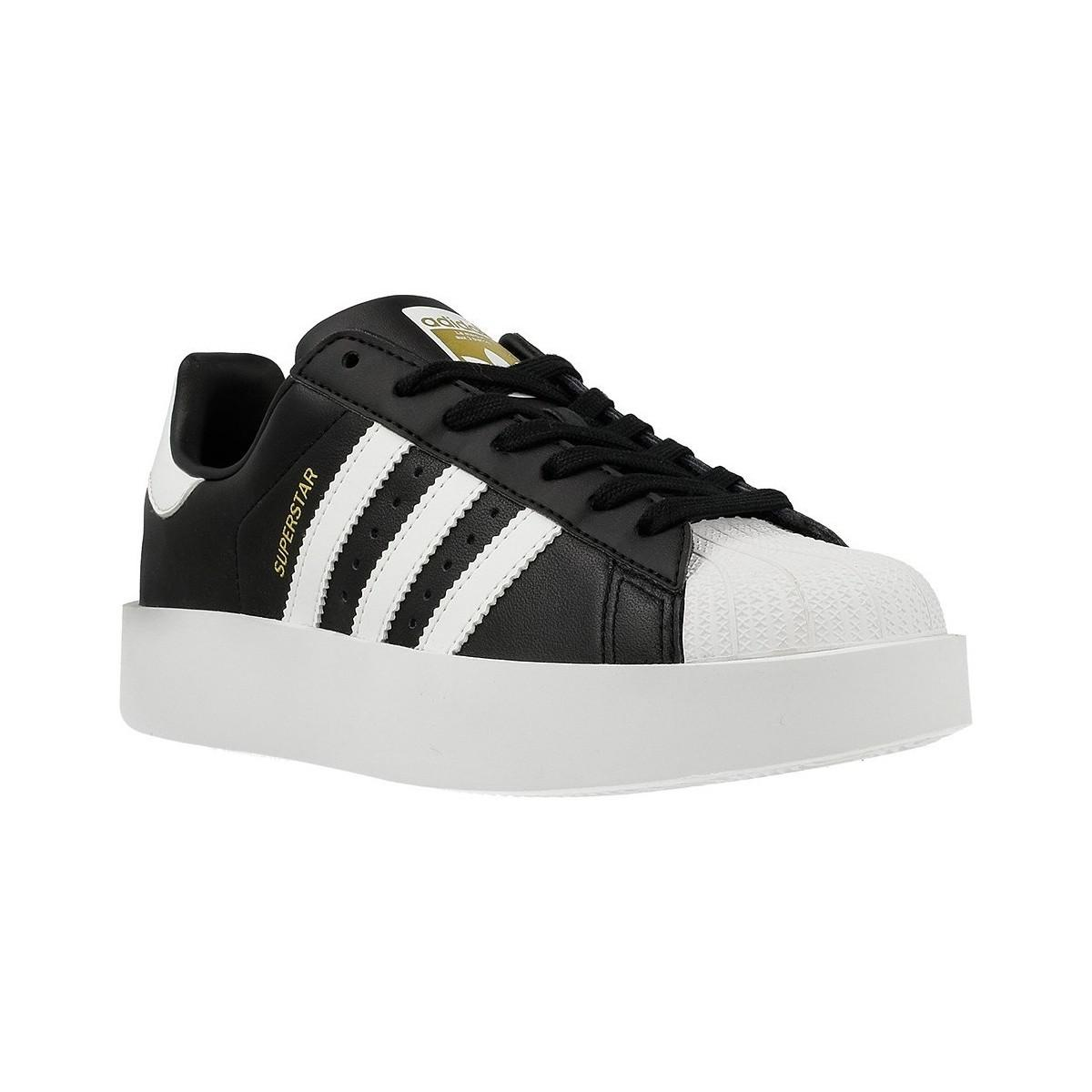 the latest bea45 e8a2f Adidas Originals Superstar Bold W Women s Shoes (trainers) In Black ...