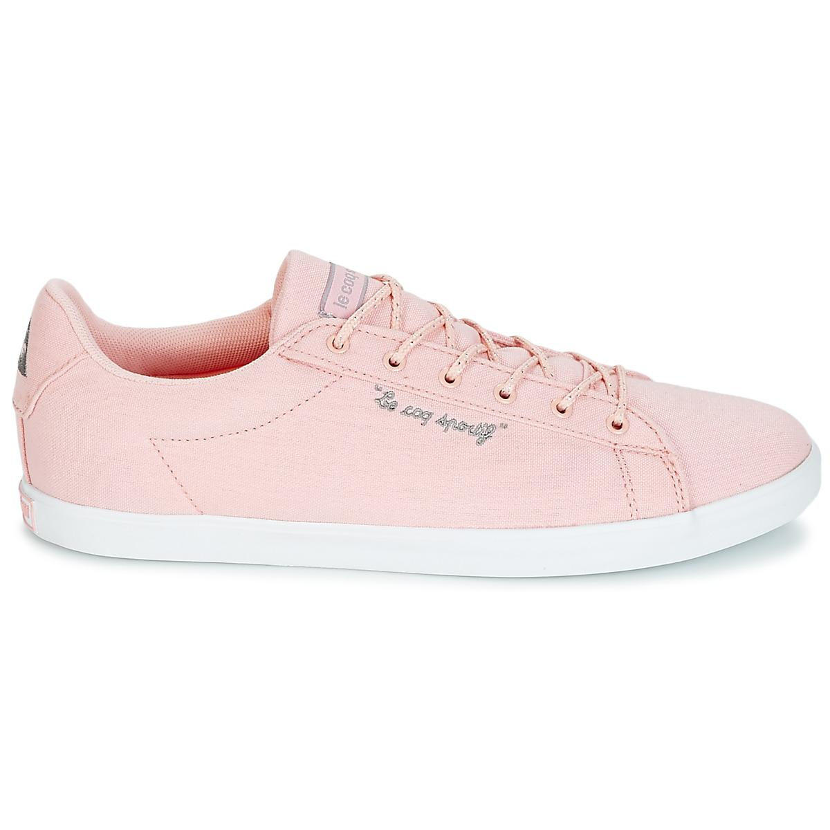 save off 4cd86 3d6d4 ... Le Coq Sportif - Agate Lo Cvs metallic Women s Shoes (trainers) In Pink  ...