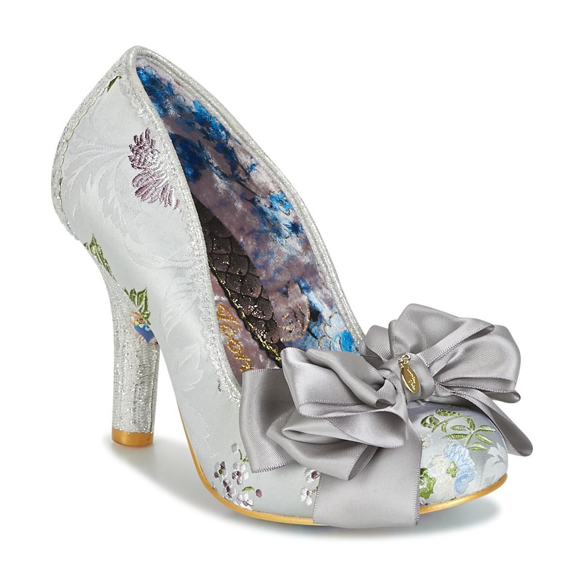 2c8d68128c1ab Irregular Choice Ascot Women s Court Shoes In Silver in Metallic ...