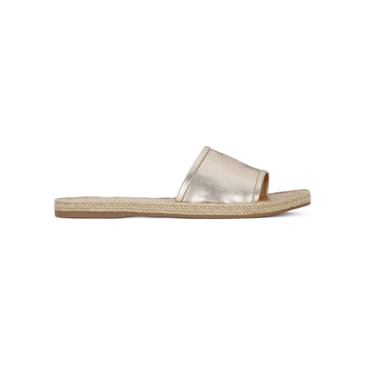 cc5e5685f Tommy Hilfiger 709 Women s Sandals In Silver in Metallic - Lyst