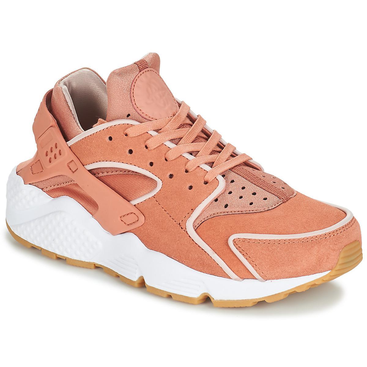 d794b758d809 Nike Air Huarache Run Premium W Women s Shoes (trainers) In Pink in ...