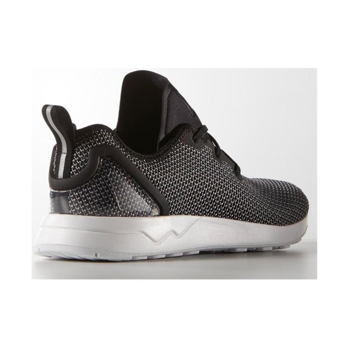 adidas zx flusso avanzata asimmetrici scarpe da uomo (formatori) in nero