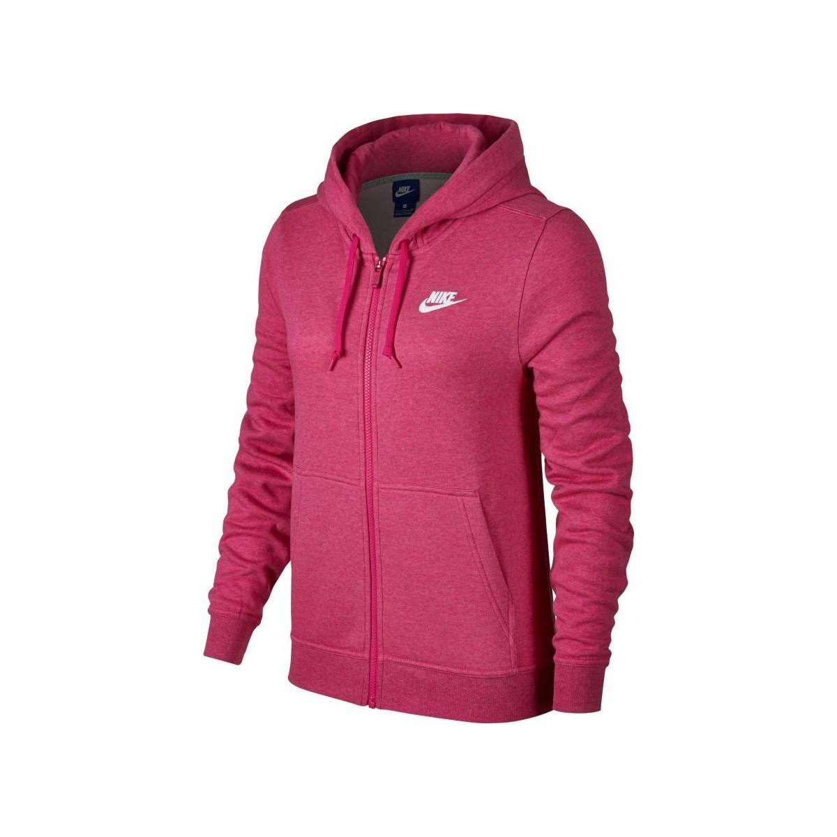 83ec01866a56 Nike Woman Sportswear Hoodie Women s Sweatshirt In Pink in Pink ...
