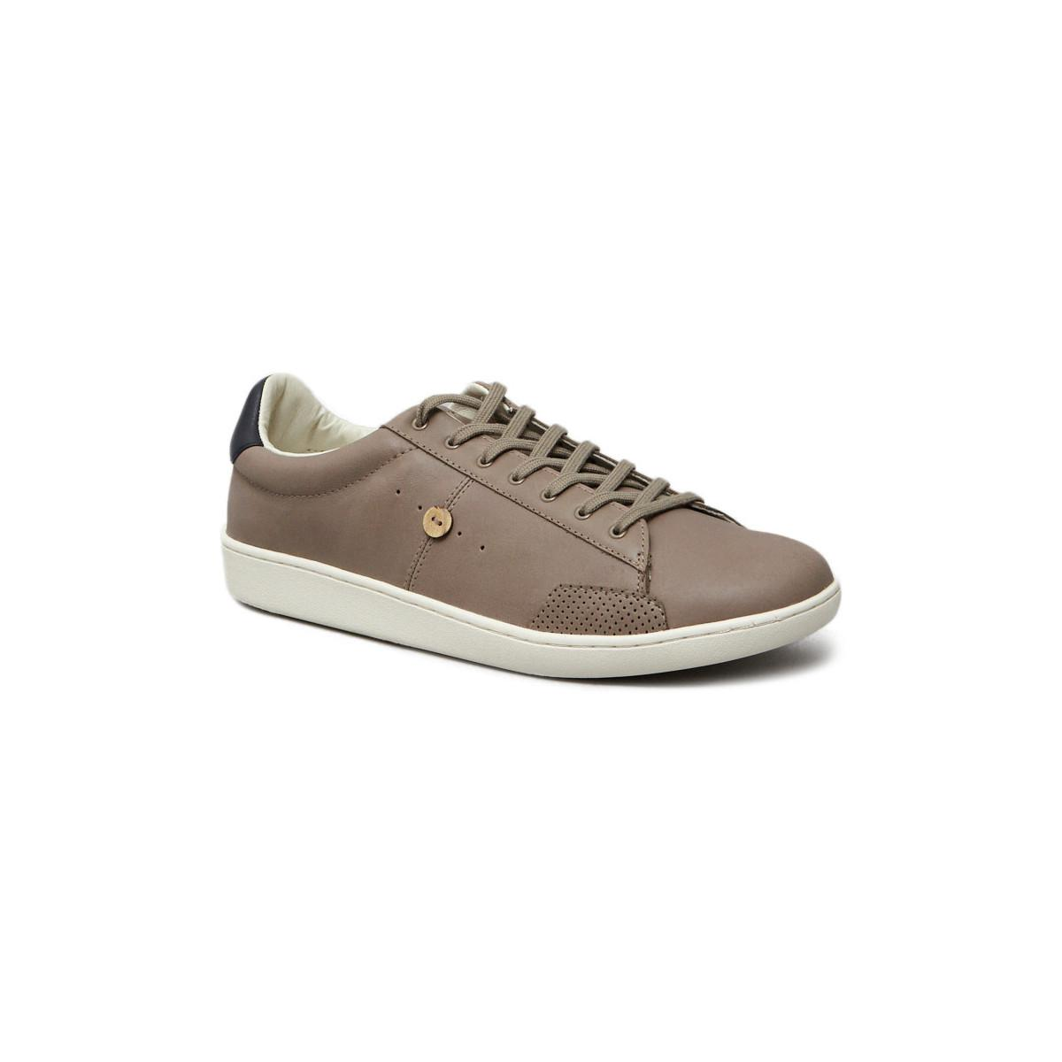 Faguo. Natural Hosta Trainers 42444 Taupe Men's Trainers In Beige