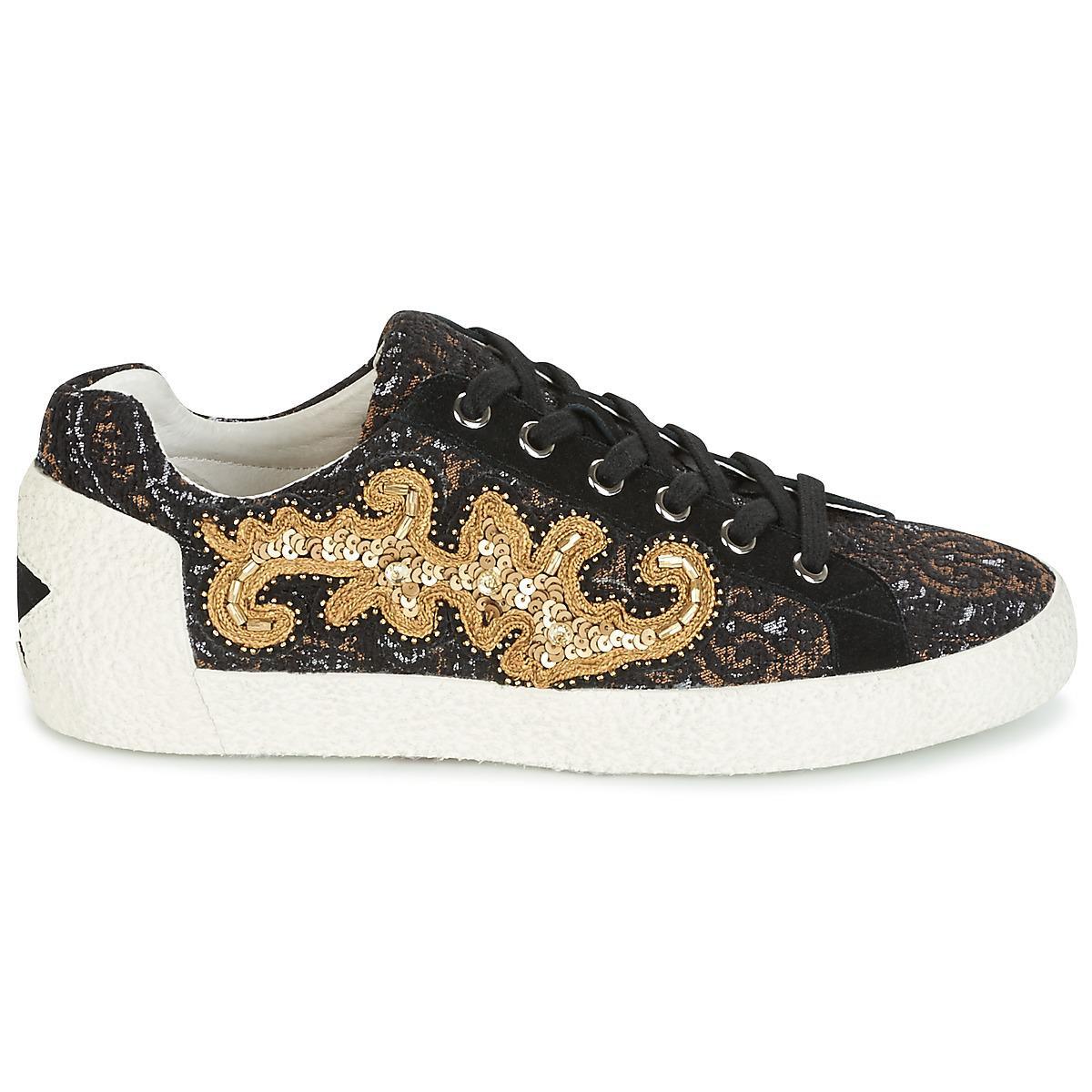 ca87ef5c8436c9 Lyst - NYMPHEA femmes Chaussures en Noir Ash en coloris Noir