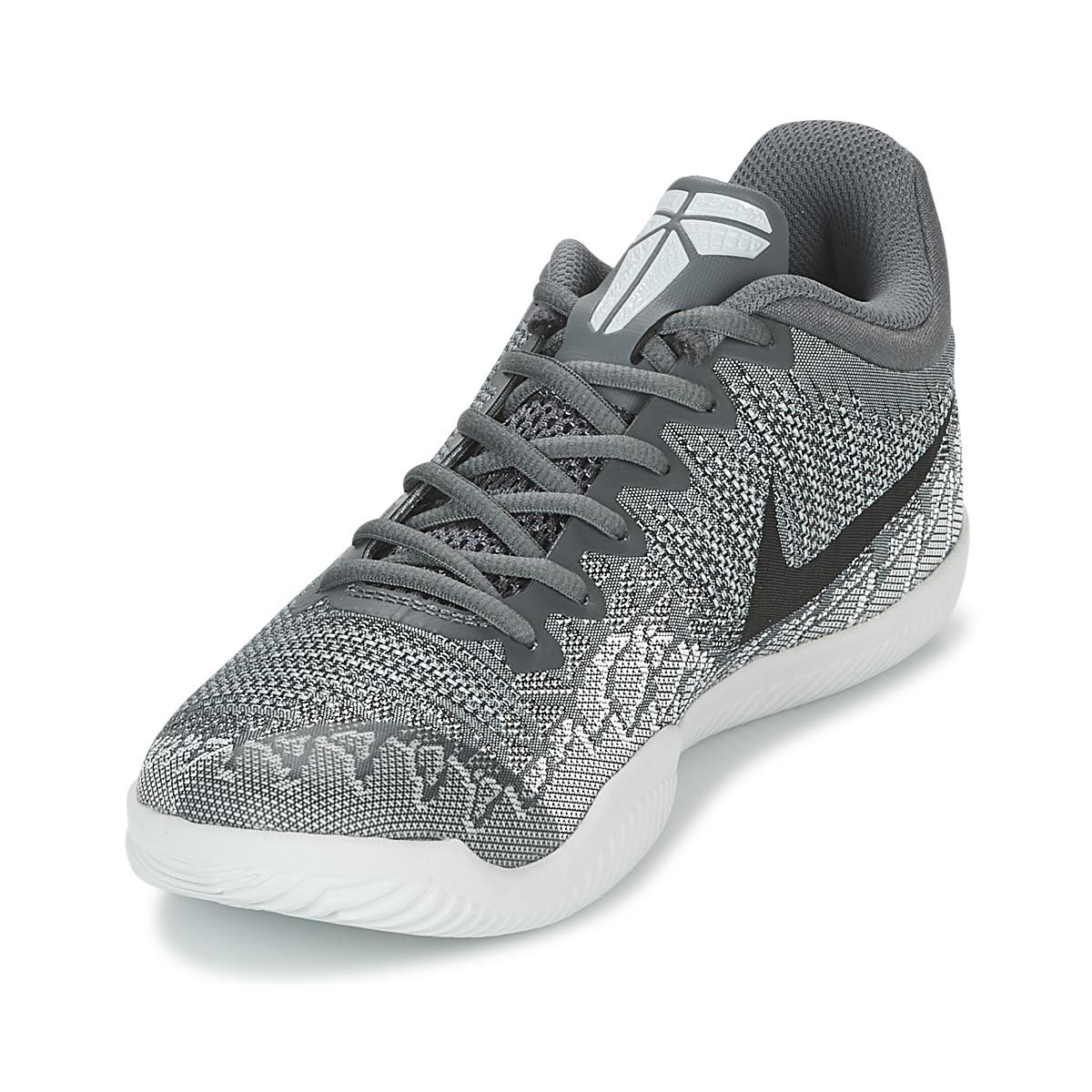 8a4bd6a5494 Nike Mamba Rage Men s Basketball Trainers (shoes) In Grey in Gray ...