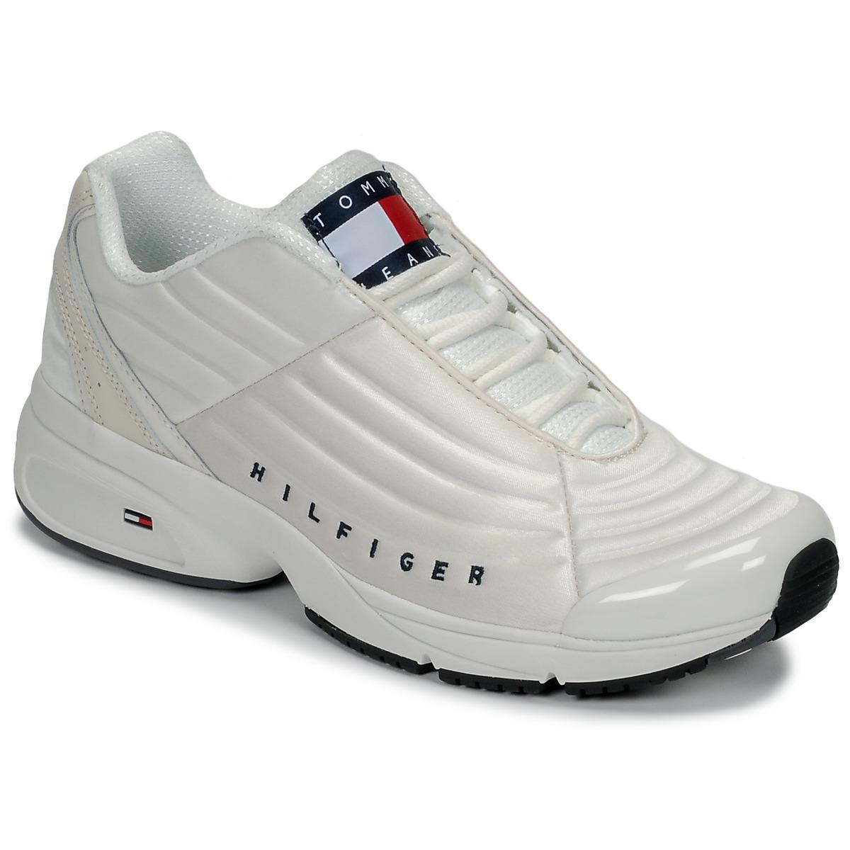 b1d70cce9 Tommy Hilfiger Phil 2c3 Men s Shoes (trainers) In White in White for ...