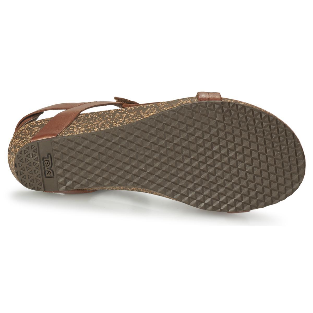 0db3491eb1d1 Teva Ysidro Universal - Metallic Women s Sandals In Brown in Brown ...