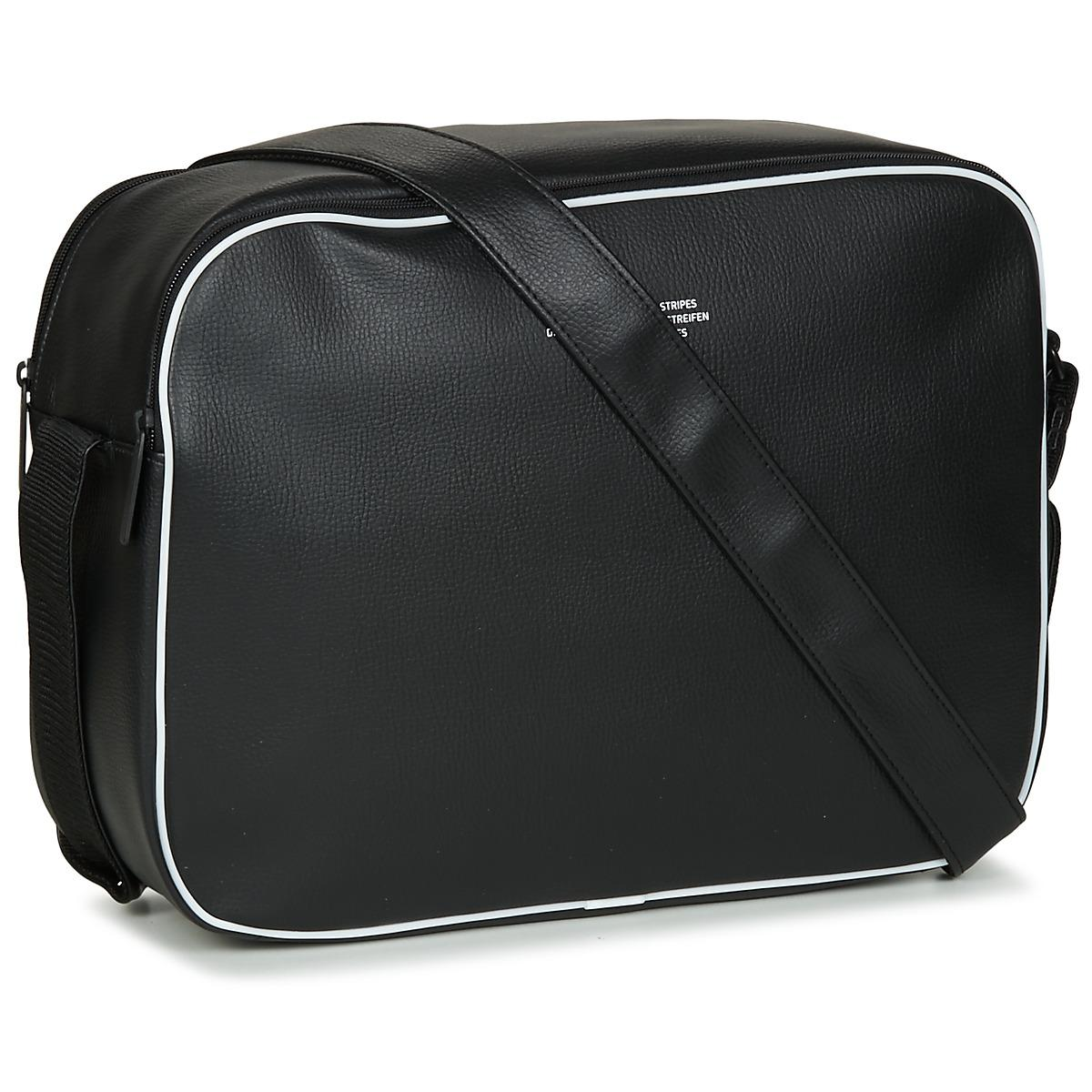 16f7da9f7689 adidas Airliner Vint Men s Messenger Bag In Black in Black for Men ...