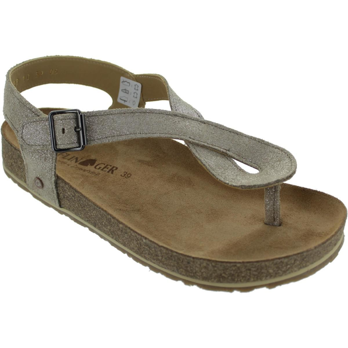Haflinger Lena Womens Sandals In Beige Natural Lyst Inside Flats Hadid Khaky 37 View Fullscreen