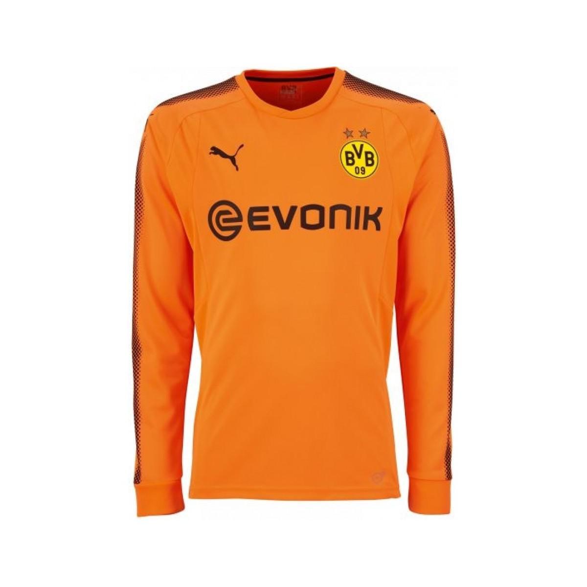 98edb290628 PUMA 2017-2018 Borussia Dortmund Away Goalkeeper Shirt Men's In ...
