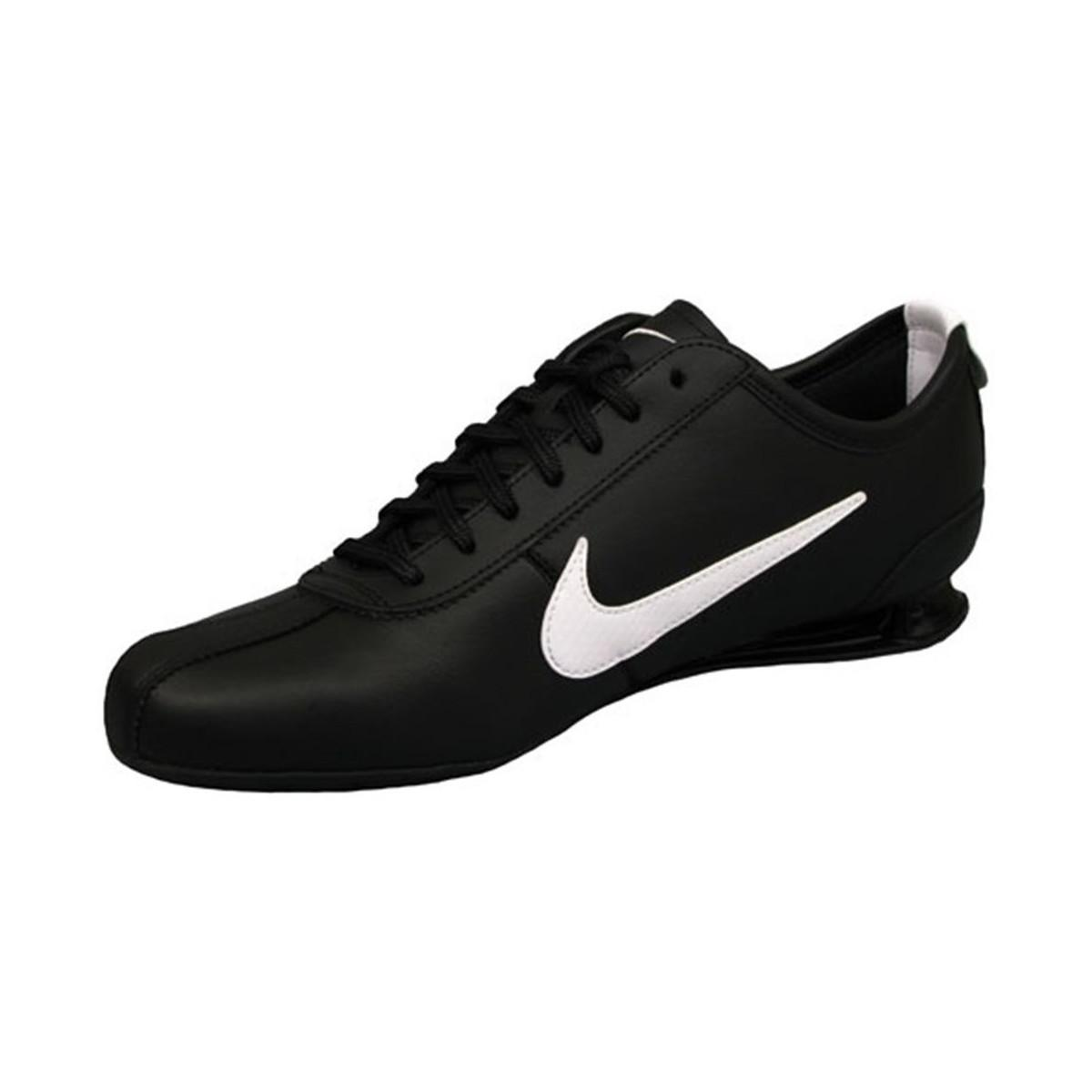timeless design aa487 dd1af Nike Shox Rivalry Men s Shoes (trainers) In Black in Black for Men ...