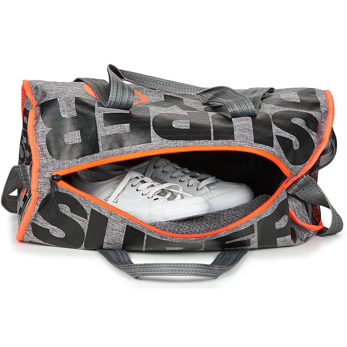 2445f7aa46e009 Superdry Xl Sports Barrel Men's Sports Bag In Grey in Gray for Men ...
