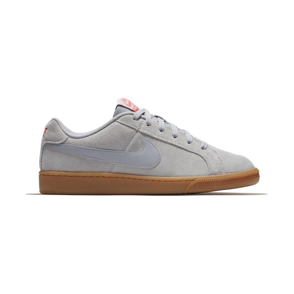 85e7f125342382 Nike Court Royale Suede Men s Shoes (trainers) In Grey in Gray for ...