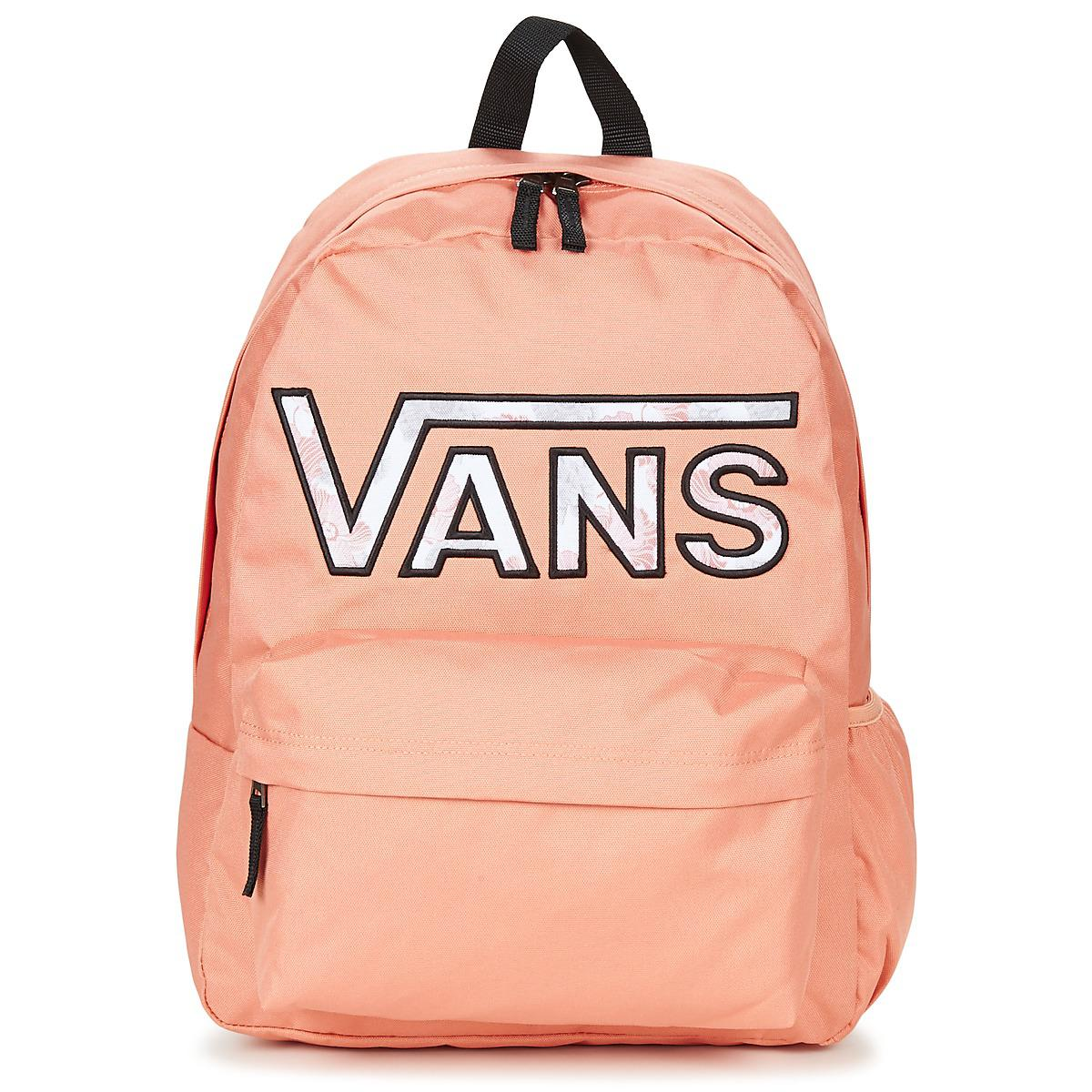 89fa2ea62a Vans Realm Flying V Backpack Women s Backpack In Pink in Pink - Lyst