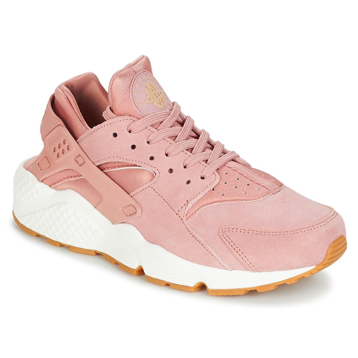 brand new 08c51 8eb2e Nike Air Huarache Run Sd W Women's Shoes (trainers) In Pink in Pink ...