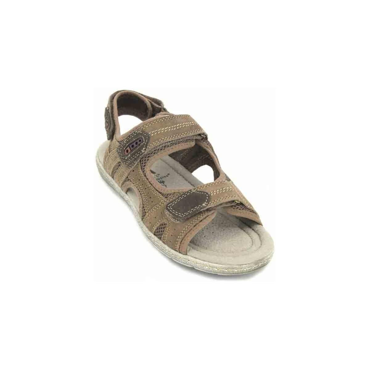 642131e12a9 Hush Puppies Rafael 624940 Sandals For Men Men s Sandals In Beige in ...