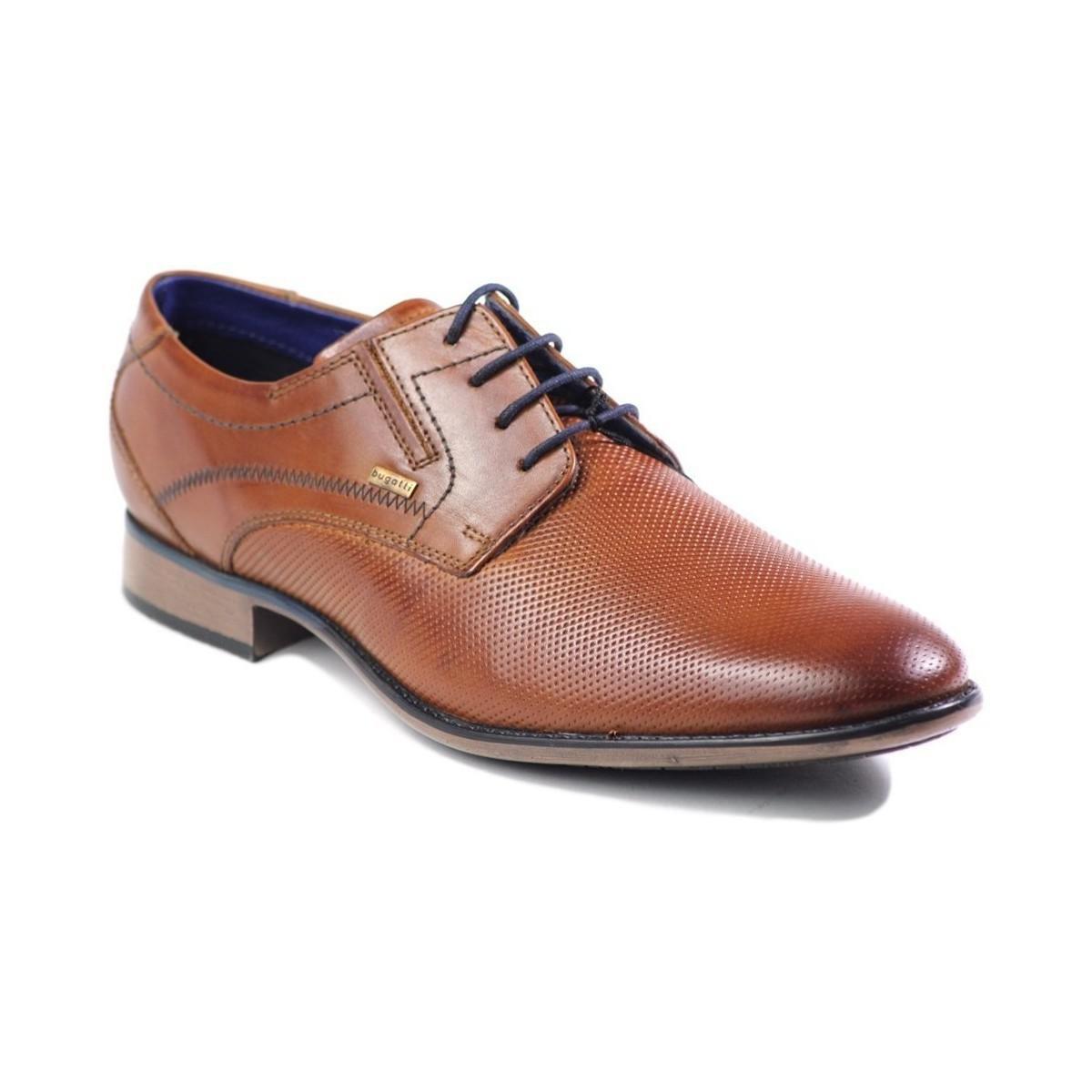 Bugatti 3112530521006300 Men s Smart Formal Shoes In Brown