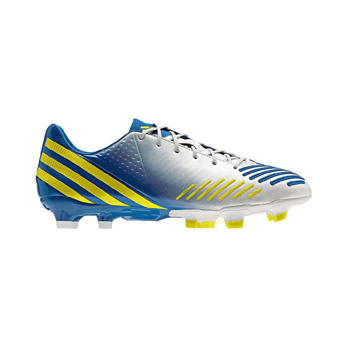 the best attitude a4218 2ad30 Adidas Predator Lz Trx Fg Men s Football Boots In Silver in Metallic ...