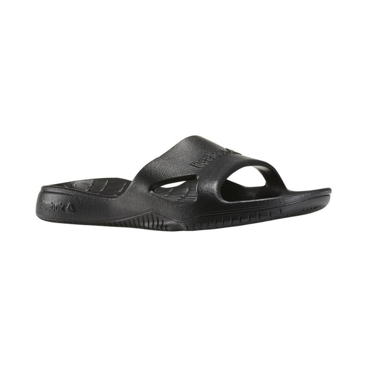 0113071962165 Reebok Kobo H2out Women s Flip Flops   Sandals (shoes) In Black in ...
