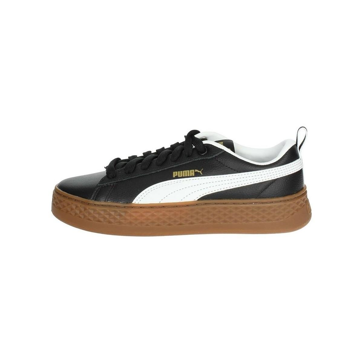 07c38874dd7e40 PUMA - Smash Platform Vt Women s In Black for Men - Lyst. View fullscreen