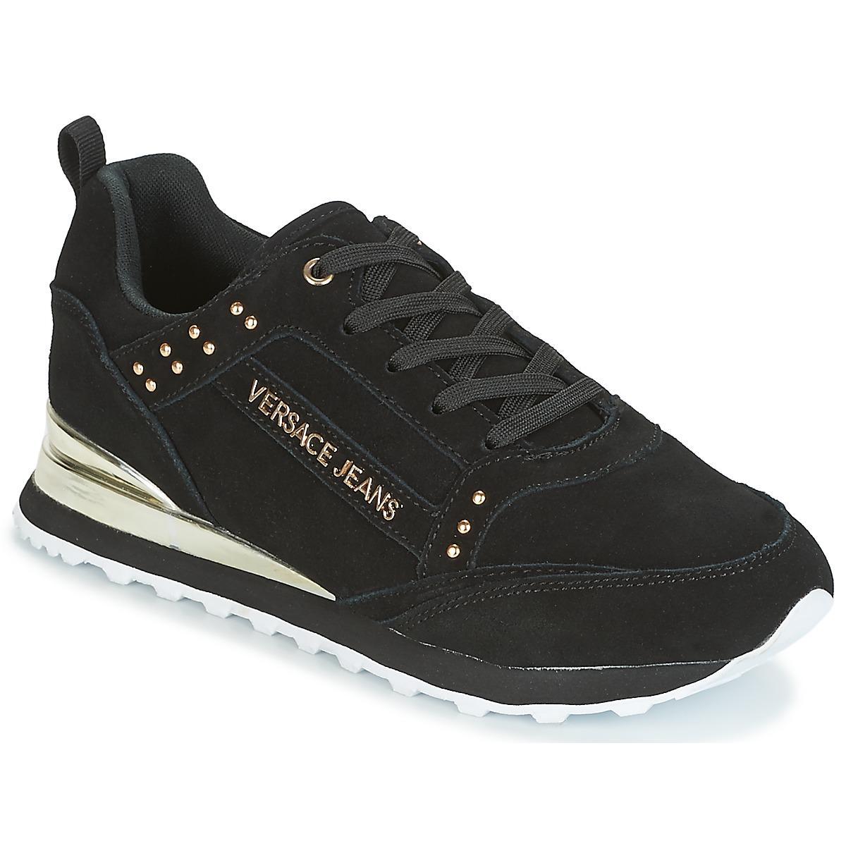 Lyst - AMBER VRBSD2 femmes Chaussures en Noir Versace Jeans en ... cd9883dd22d
