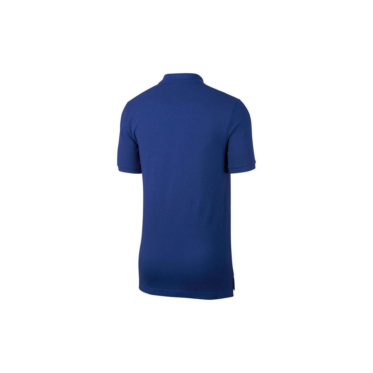 4037abd89 Nike 2017-2018 Chelsea Core Polo Shirt Men's Polo Shirt In Blue in ...